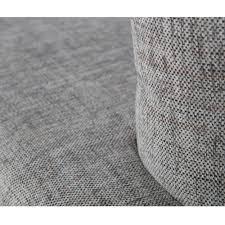 tissu canapé canapé 3 places tissu et métal uma by drawer