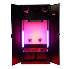 hydroponic indoor gardening system home growing box cabinet grow