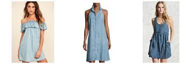 class to night out denim mini dress college fashion