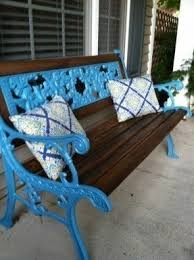 Antique Cast Iron Garden Benches For Sale by Wrought Iron Patio Benches Foter