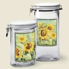 sunflower kitchen canisters 130 best marrisa s sun flowers images on sunflowers