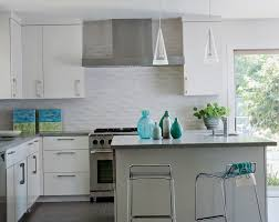 Backsplash For White Kitchens Glass Mosaic Tile Kitchen Backsplash Ideas With White Cabinets