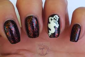 halloween nail art designs ghost best halloween nail art