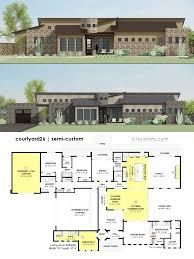 contemporary modern house baby nursery courtyard modern house plans spectacular modern