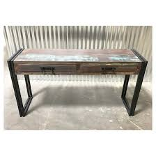 Wood Bench With Metal Legs Old Reclaimed Wood 60