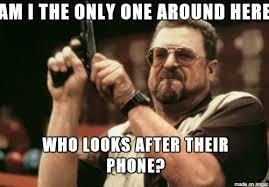 Broken Phone Meme - after seeing the majority of my friends mobile phones teenagers