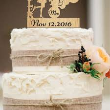 mrs and mrs cake topper shop rustic wedding cake on wanelo
