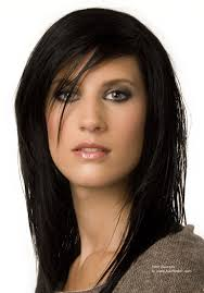 johnbeerens hairstyler hairstyle with layers for ink black hair