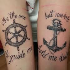 matching tattoo ideas matching navy tattoos