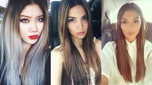 model long straight hairstyles conquering fashion world