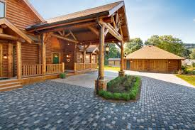 houses with carports log building maintenance and restoration project 1 sashco log