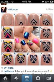 247 best que nails images on pinterest make up tribal nails and