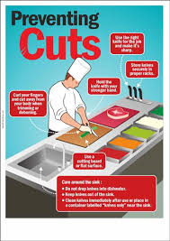 safety kitchen knives knife safety poster shop safety poster shop