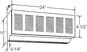 Loading Dock Air Curtain Qmark 24 Inch Air Curtain Drive Thru Window Unit