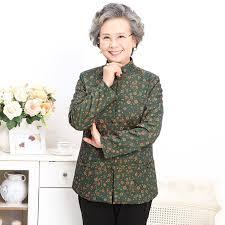 clothing for elderly autumn of coat the elderly women s clothing in