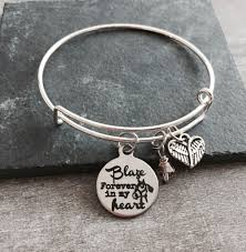 personalized silver bracelets memorial loss of of customized