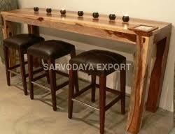 Wooden Bar Table Wooden Bar Table View Specifications Details Of Wooden Cabinet