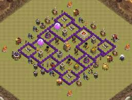 layout coc town hall level 7 10 best town hall 7 th7 war base layouts war defense designs