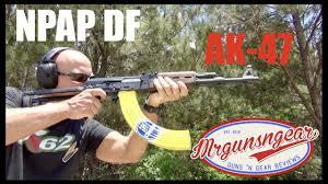 Flag With Ak 47 Zastava Yugo Npap Df Ak 47 Underfolder Review Hd Youtube