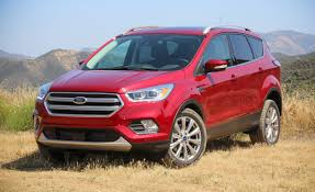 ford escape 2017 black refreshed 2017 ford escape first drive u2013 review u2013 car and driver