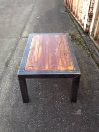 Old Coffee Table by Steel And Wood Coffee Table Recyclemented