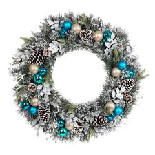 wreath the home depot