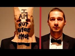 Shia Labeouf Meme - shia labeouf crying during art show http oceanup com 2014 02 13