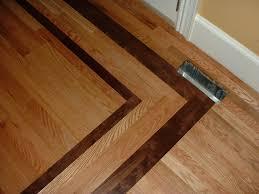 Laminate Flooring Border 1 Red Oak With A Walnut Border Ozark Hardwood Flooring