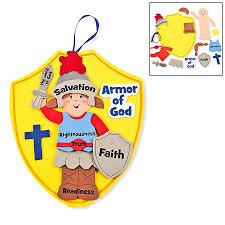 armor of god kids craft kit 1 dz the b i b l e for my kiddos