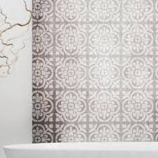 Moorish Design Valencia Tile Stencil Mediterranean Spanish Moorish Wall