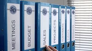 rangement documents bureau avery organisation et classement