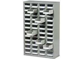 Parts Cabinets Ref B052004 Small Parts Box Cabinet 48 Drawer Unit Complete With