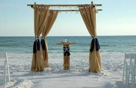 wedding arches coast affordable florida barefoot wedding packages