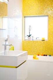Bathroom Mosaic Tiles Ideas by 25 Best Yellow Tile Ideas On Pinterest Yellow Bath Inspiration