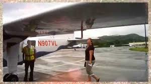 landing in vieques during storm scary and the w resort and spa
