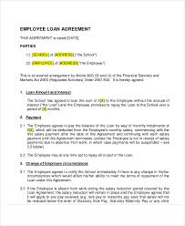 25 loan agreement templates free u0026 premium templates
