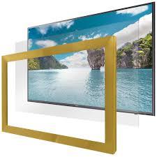 hidden television framed u0026 frameless dielectric mirror tv