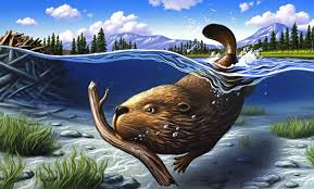 busy beaver wall mural busy beaver wallpaper wallsauce busy beaver wall mural photo wallpaper