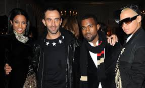 is kanye west making time with givenchy u0027s riccardo tisci