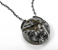 necklace with watch pendant images Antique pocket watch pendant necklace jpg
