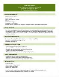 Example Of Simple Resume by Examples Of Resumes 81 Breathtaking Resume Format Sample Simple