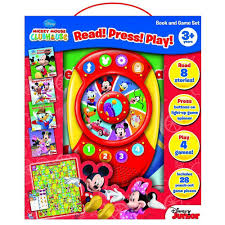 amazon com read press play game box mickey mouse clubhouse