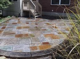 walkers concrete llc stamped concrete patio stamped concrete or