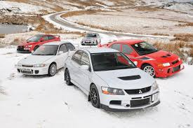mitsubishi evo 7 stock greatest mitsubishi evos tested evo