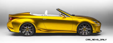 lexus convertible sports car 2014 lexus lfc2 concept cabrio is truly miraculous a design so