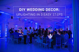 uplighting wedding diy wedding decor uplighting in 3 easy steps