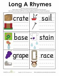 long vowels have some special rules that 1st graders will have to