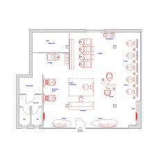 2d salon floor plan salon floor plans gamma u0026 bross