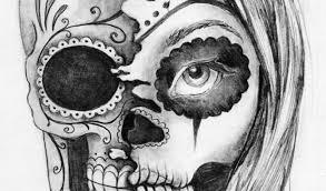 half half skull 30 amazing evil designs