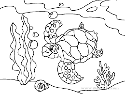 cute sea animals coloring pages getcoloringpages com